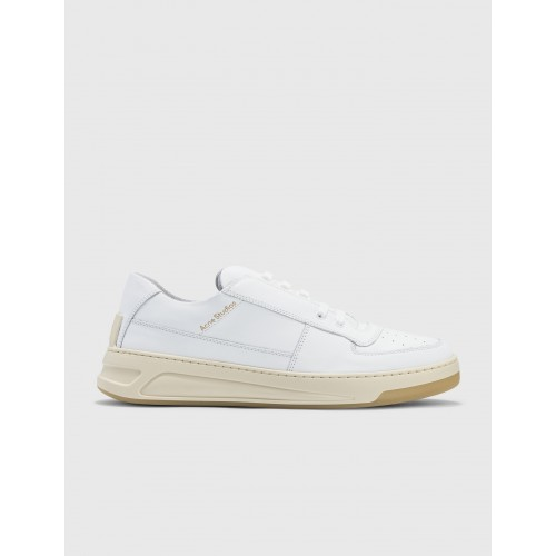 Acne Studios Mens Perey Lace Up Sneakers White ALPW252