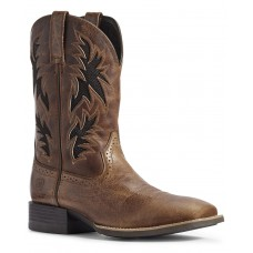 Ariat Men's Sport Cool VentTEK Western Boots - Wide Square Toe Hot Topic I1XFY1467
