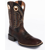 Ariat Men's Brown Sport Ranger Western Boots - Square Toe Outdoor MCCNQ7487