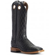 Ariat Men's Caiman Belly Western Boots - Wide Square Toe Quality H866U6691