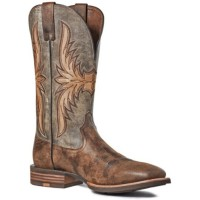Ariat Men's Crosswire Western Boots - Square Toe Extra Wide Width Lifestyle 66GJB4154