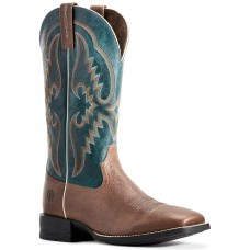 Ariat Men's Round Pen Saddle Western Boots - Wide Square Toe Size 13 Trends OSY383746