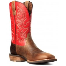 Ariat Men's Rover Rustic Western Boots - Wide Square Toe Novelty For Sale Near Me 09WFG1228