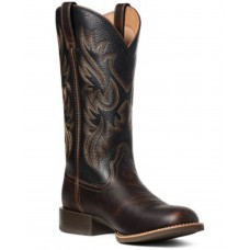 Ariat Men's Sport Doolin Western Boots - Round Toe Large Size Collection CFKE16509