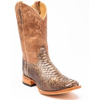 Cody James Men's Exotic Python Western Boots - Wide Square Toe WFCSF5888