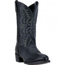 Laredo Men's Embroidered Round Toe Western Boots In Style YJ36N5948