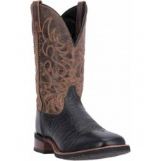 Laredo Men's Two Toned Embroidered Western Boots Size 11 Top Sale 55CHR7536