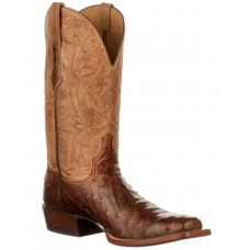Lucchese Men's Cliff Western Boots - Wide Square Toe Size 13 Stores C4TZV4103
