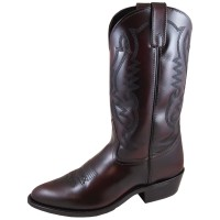 Smoky Mountain Men's Denver Cherry Western Boots - Medium Toe Wide Width Fitted 67A4C1264