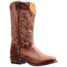 Boulet Men's Shaft Embroidery Western Boots - Snip Toe New Style OKXE21962