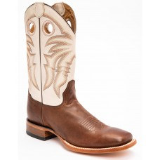 Cody James Men's Full-Grain Leather Western Boots - Wide Square Toe RA1PP459