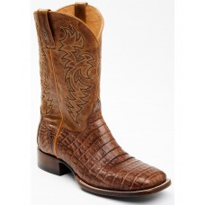 Cody James Men's Nuez Exotic Caiman Skin Western Boots - Wide Square Toe 6U8H39851