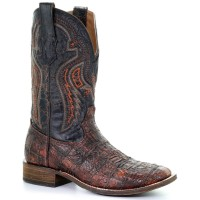 Corral Men's Honey Fuscus Western Boots - Square Toe Large Size Clearance Sale H72NC4105