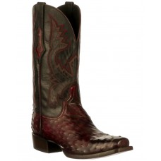 Lucchese Men's Cliff Western Boots - Wide Square Toe Lifestyle NRF17190