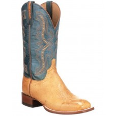 Lucchese Men's Tan Cecil Western Boots - Wide Square Toe Size 9 Near Me K3SSE3527