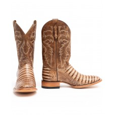 Cody James Men's Caiman Belly Western Boots - Wide Square Toe Large Size Good Quality CT5W32537