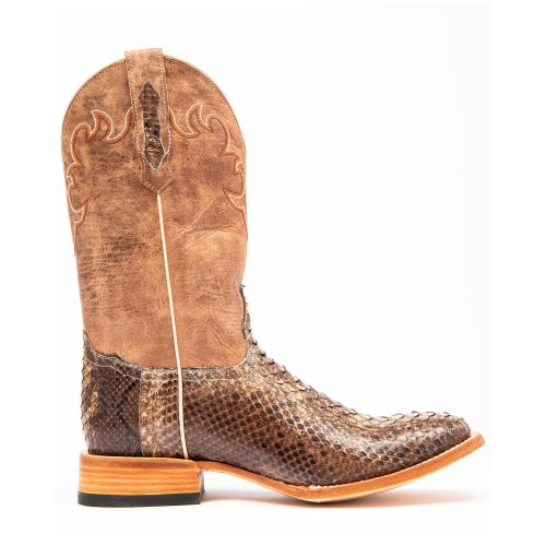 Cody James Men's Exotic Python Western Boots - Wide Square Toe Size 13 Recommendations 5CW3B4329