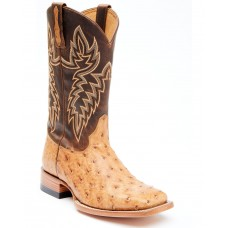 Cody James Men's Serengeti Exotic Ostrich Skin Western Boots - Wide Square Toe 7TED16635