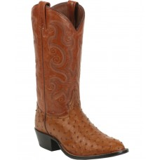 Tony Lama Men's Full Quill Ostrich Exotic Western Boots O1GTI670