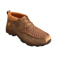 Twisted X Men's Woven Hiker Shoes - Moc Toe For Wide Feet Quality 091M32692