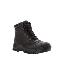 Propét Mens Blizzard Mid Lace Cold Weather Boots Black Collection GGHB571