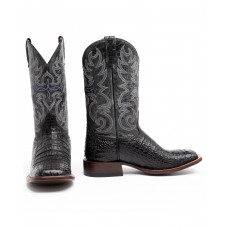 Cody James Men's Caiman Embroidered Exotic Boots - Wide Square Toe 2021 New GCHQW3168