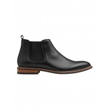 AQ by Aquila Boy's Lucca Leather Chelsea Boots Black Autumn And Winter AKRQPJG