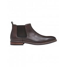 AQ by Aquila Lucca Leather Chelsea Boots Brown Size 10 Summer DBKUTYM