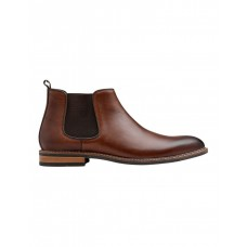 AQ by Aquila Mens Lucca Leather Chelsea Boots Tan Summer MDZQPAS