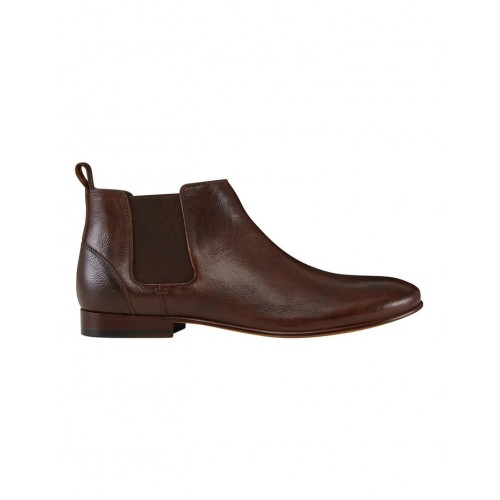 AQ by Aquila Mens Marty Leather Chelsea Boots Brown In Wide Width 2021 ZTTHPXL