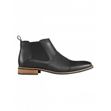 AQ by Aquila Mens Ortiz Leather Chelsea Boots Black Shop Autumn And Winter KQMWZWO