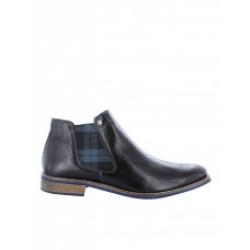 Wild Rhino Drake Leather Ankle Boot Black Extra Wide Width Recommendations Summer And Fall PJQMYJT