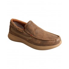 Twisted X Men's CellStretch Driving Shoes - Moc Toe Large Sizes TU5TE7093