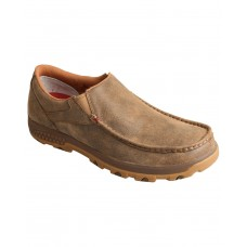 Twisted X Men's CellStretch Slip-On Driving Shoes - Moc Toe Wide Width Near Me KBH0D8343