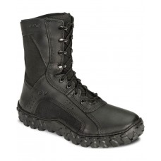 Rocky S2V Vented 8 Lace-Up Military Boots - Round Toe Indoor Outdoor Quality 0QWEH990