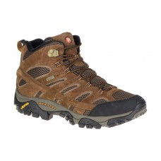 Moab 2 Mid Wp Merrell Men's Walking Shoes Earth Size 13 Topshop LMLY582