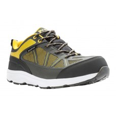 Seeley Propet Men's Shoes Brands Grey-Yellow Shopping IOPL595
