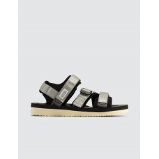 Suicoke Mens Kisee-V Sandals Gray Indoor Outdoor Cheap DIWP677